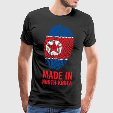Made In North Korea / Nordkorea / 조선민주주의인민공화국 - Männer Premium T-Shirt