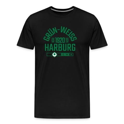 SV Grün-Weiss Harburg estd. - Männer Premium T-Shirt