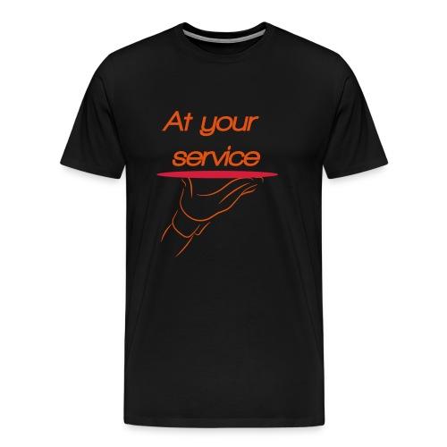 Ober - Mannen Premium T-shirt
