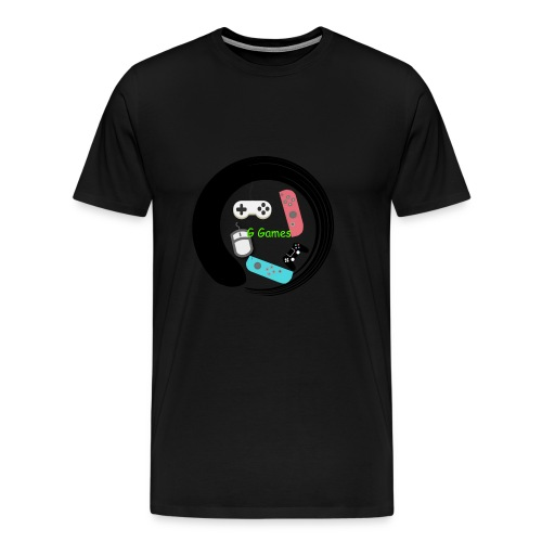 G Games Logo New - Men's Premium T-Shirt