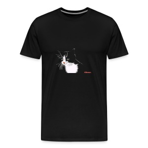 Cat FEMALE - Men's Premium T-Shirt