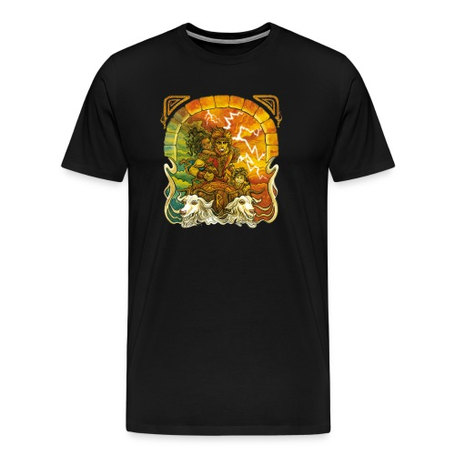 Tor - Premium-T-shirt herr