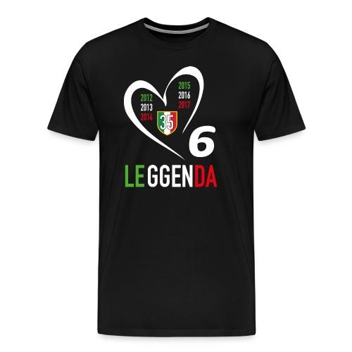 LE6GENDA - Maglietta Premium da uomo