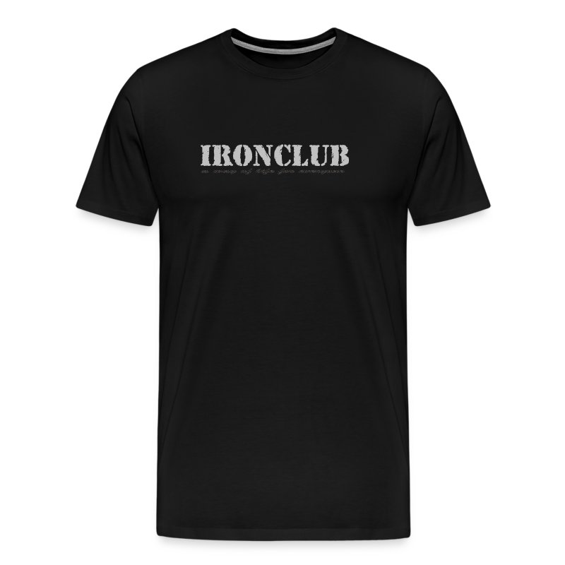 IRONCLUB - a way of life for everyone - Premium T-skjorte for menn