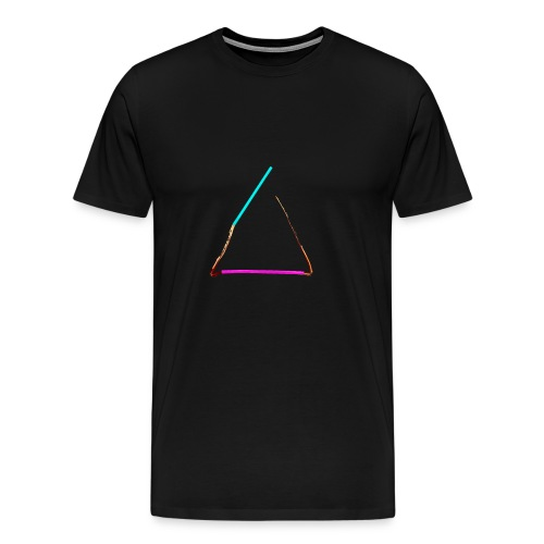 3eck - Dreieck - triangle - Männer Premium T-Shirt