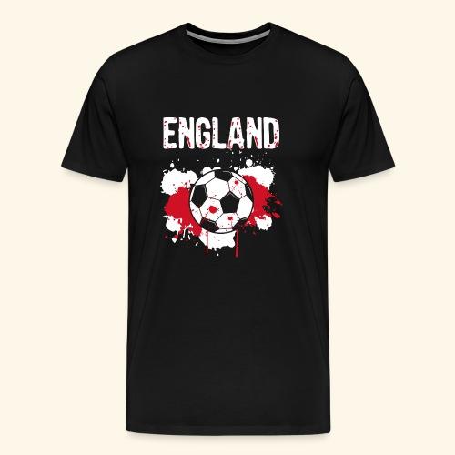 England Meister Fußball Fussball Shirt Geschenk - Männer Premium T-Shirt