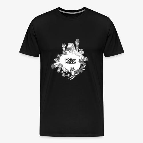 Koiramekka Original - Miesten premium t-paita
