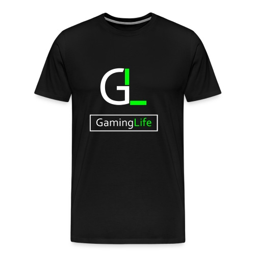 GamingLife Logo 2k18 - Männer Premium T-Shirt
