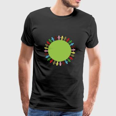 Community Circle - Men's Premium T-Shirt