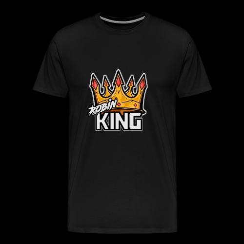 RobinKING - Premium-T-shirt herr