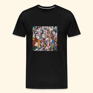 Les gens . - T-shirt Premium Homme