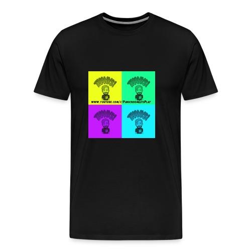 Buntes danke - Männer Premium T-Shirt