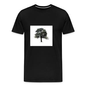 cool cedar tree - Men's Premium T-Shirt