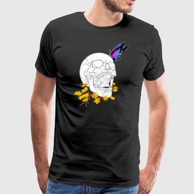 Silent Fall i bass og diskant - Premium T-skjorte for menn