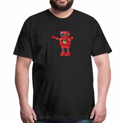 Brewski Red Robot IPA ™ - Men's Premium T-Shirt