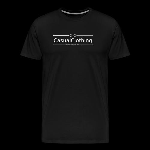 CC created in Sweden 2016 - Premium-T-shirt herr