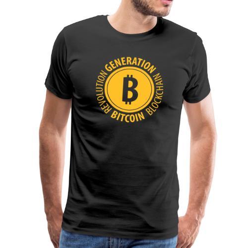 GENERATION BITCOIN – Blockchain Krypto - Männer Premium T-Shirt