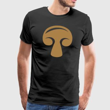 champignon sopp - Premium T-skjorte for menn