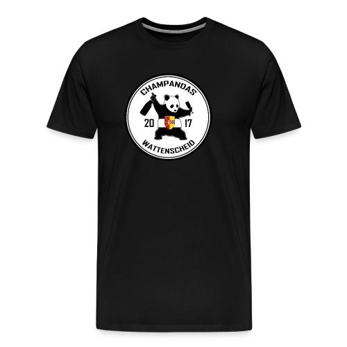 Champandas Logo - Männer Premium T-Shirt