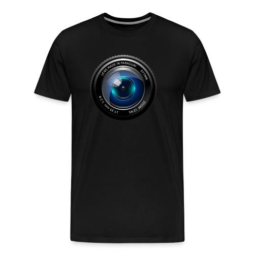 Camera Lens - Maglietta Premium da uomo