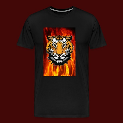 Fire Tiger - Men's Premium T-Shirt