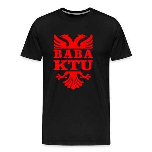 Papa ist da - Albanischer Adler - Männer Premium T-Shirt