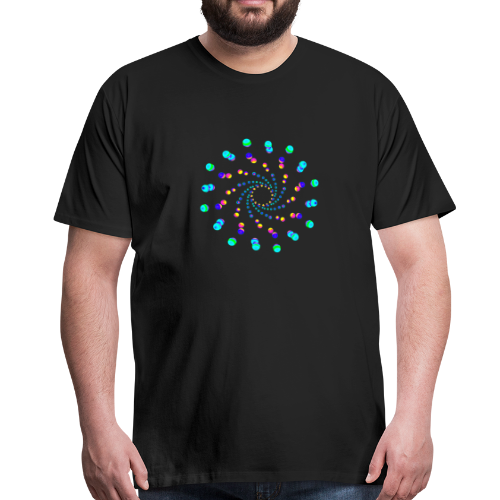 atom - cell two - Männer Premium T-Shirt