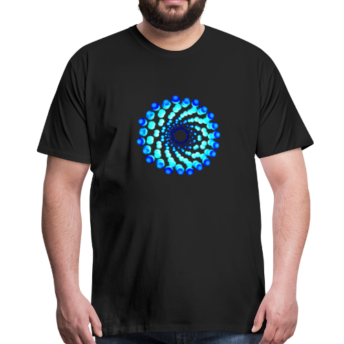 atom - cell nine - Männer Premium T-Shirt