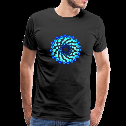 atom - cell nine - Männer Premium T-Shirt