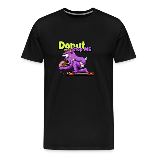 Skateboard Monster - Männer Premium T-Shirt