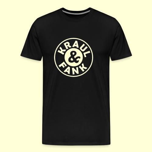 Kraul & Fank transparent - Männer Premium T-Shirt