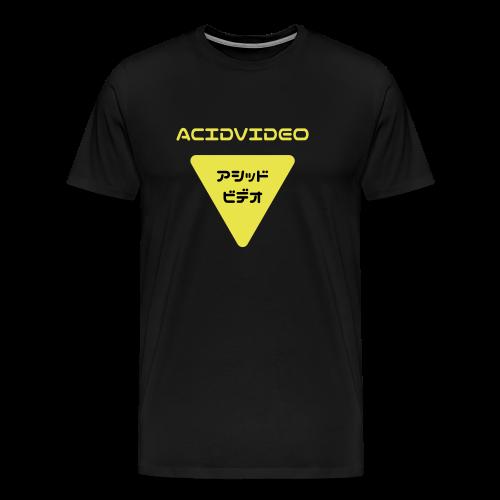 Acidvideo logo - Men's Premium T-Shirt
