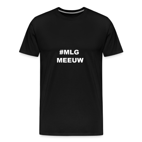 MLG MEEUW Black - Mannen Premium T-shirt