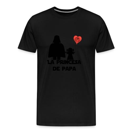 princesa de papa - Camiseta premium hombre