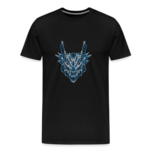 Monster Hunter - Poly-Lagiacrus - Men's Premium T-Shirt