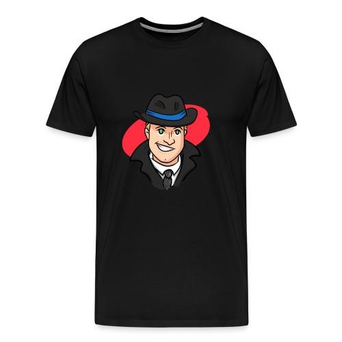 Logo red - Männer Premium T-Shirt