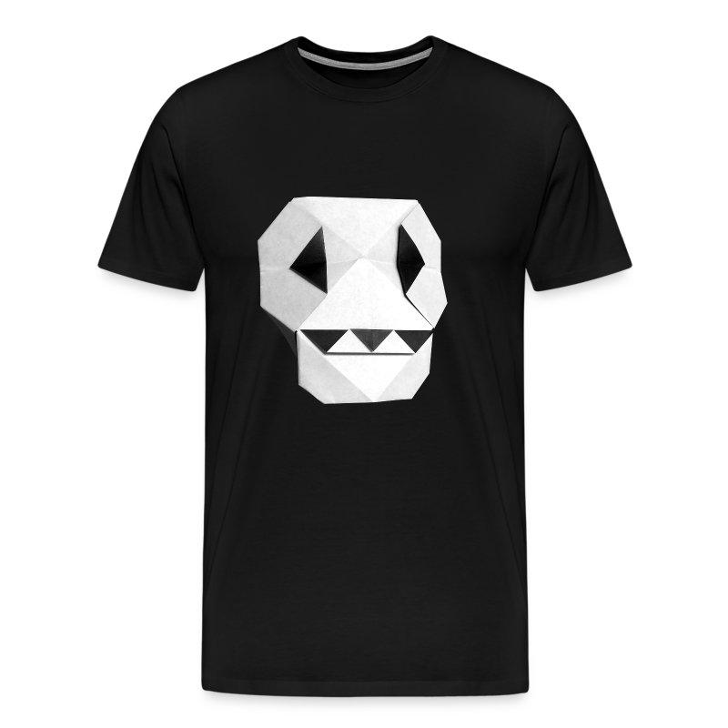 Origami Skull - Crâne Origami - Calavera - Teschio - T-shirt Premium Homme