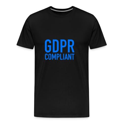 GDPR COMPLIANT - Maglietta Premium da uomo