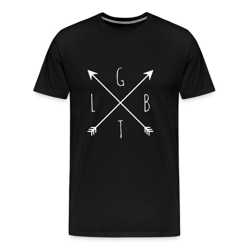 Hipster LGBT Gay Pride Homo CSD Shirt Geschenk - Männer Premium T-Shirt