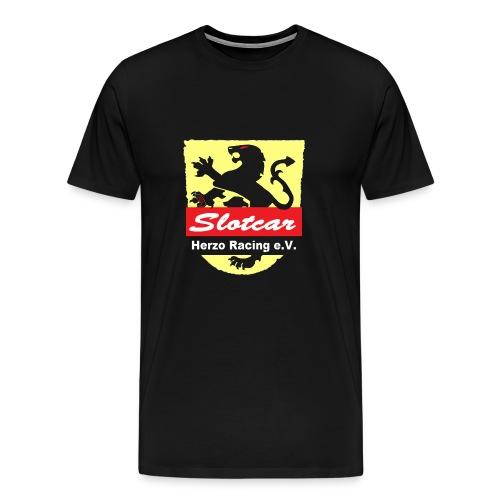 HR Logo Transparent (für schwarze Hintegründe) - Männer Premium T-Shirt