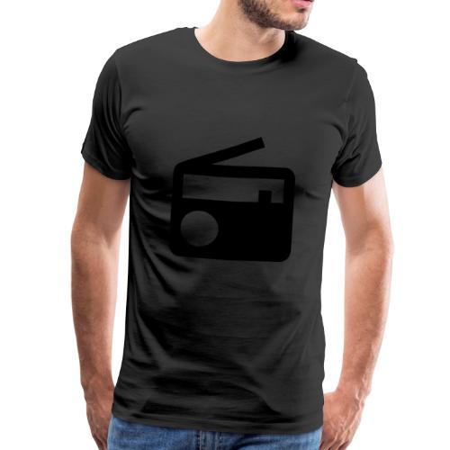 radio10.7logo neu - Männer Premium T-Shirt