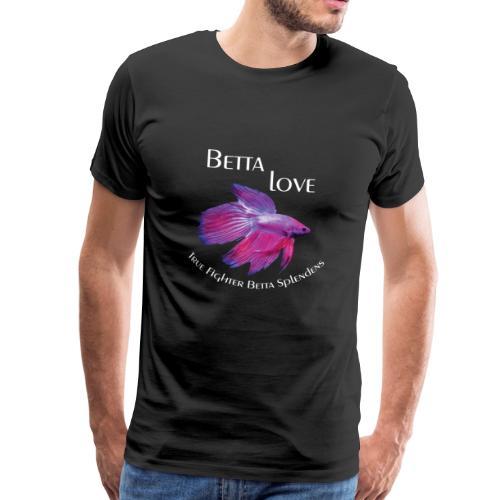Betta Love - Betta Splendens - Männer Premium T-Shirt