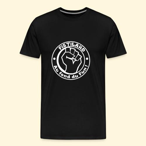 cercle FISTILAND blanc - T-shirt Premium Homme