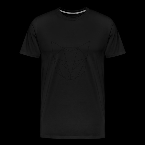 Cat head - T-shirt Premium Homme