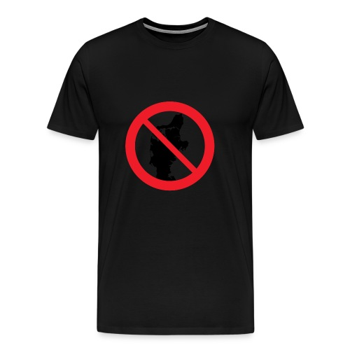 Jylland forbudt - Herre premium T-shirt