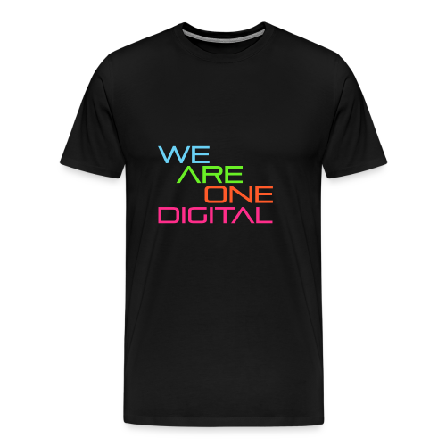 Official We Are One Digital Text Design - Men's Premium T-Shirt