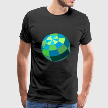 pallo - Miesten premium t-paita