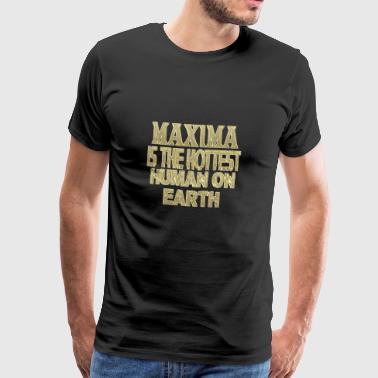 maxima - Premium-T-shirt herr