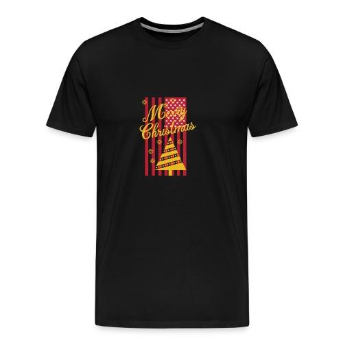 Merry Christmas USA T-Shirt - Männer Premium T-Shirt
