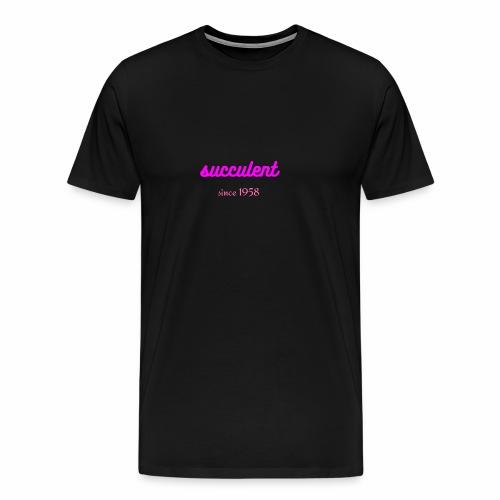 SUCCULENT - Mannen Premium T-shirt
